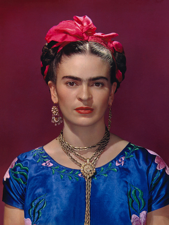 Frida Blue Dress high rez