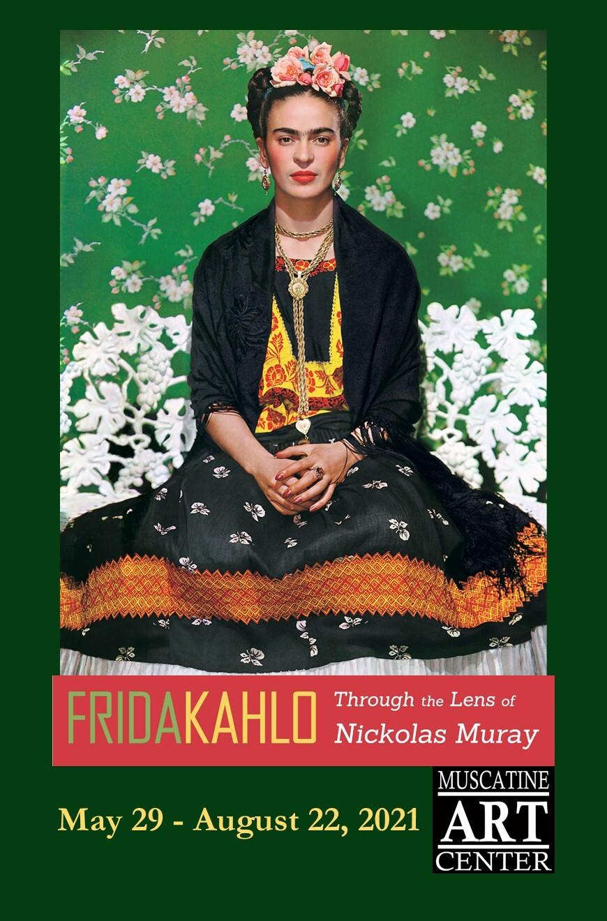 Frida Kahlo Post Card Front 2021