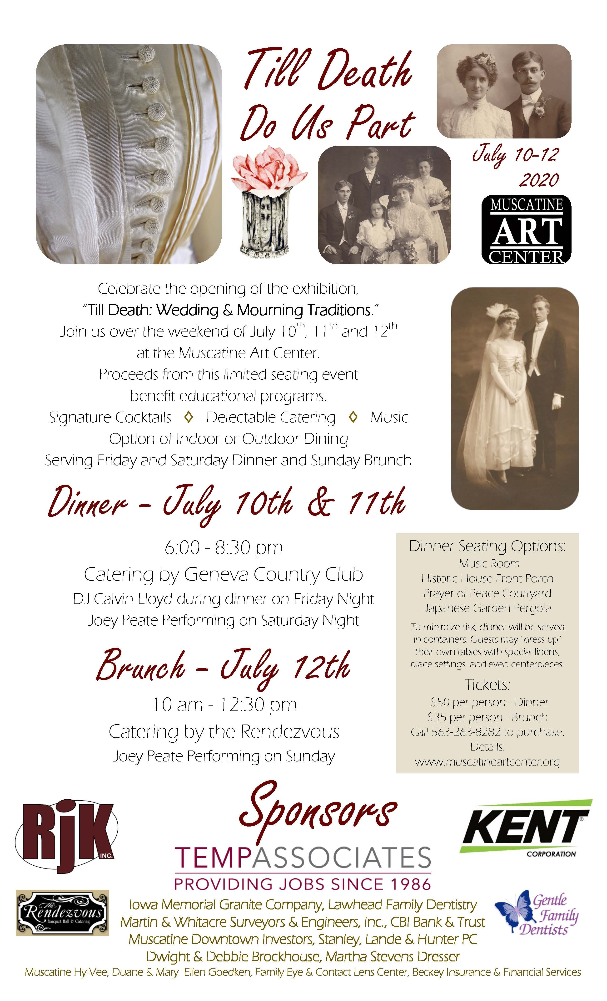 """Till Death"" Fundraiser - July 12th Image"