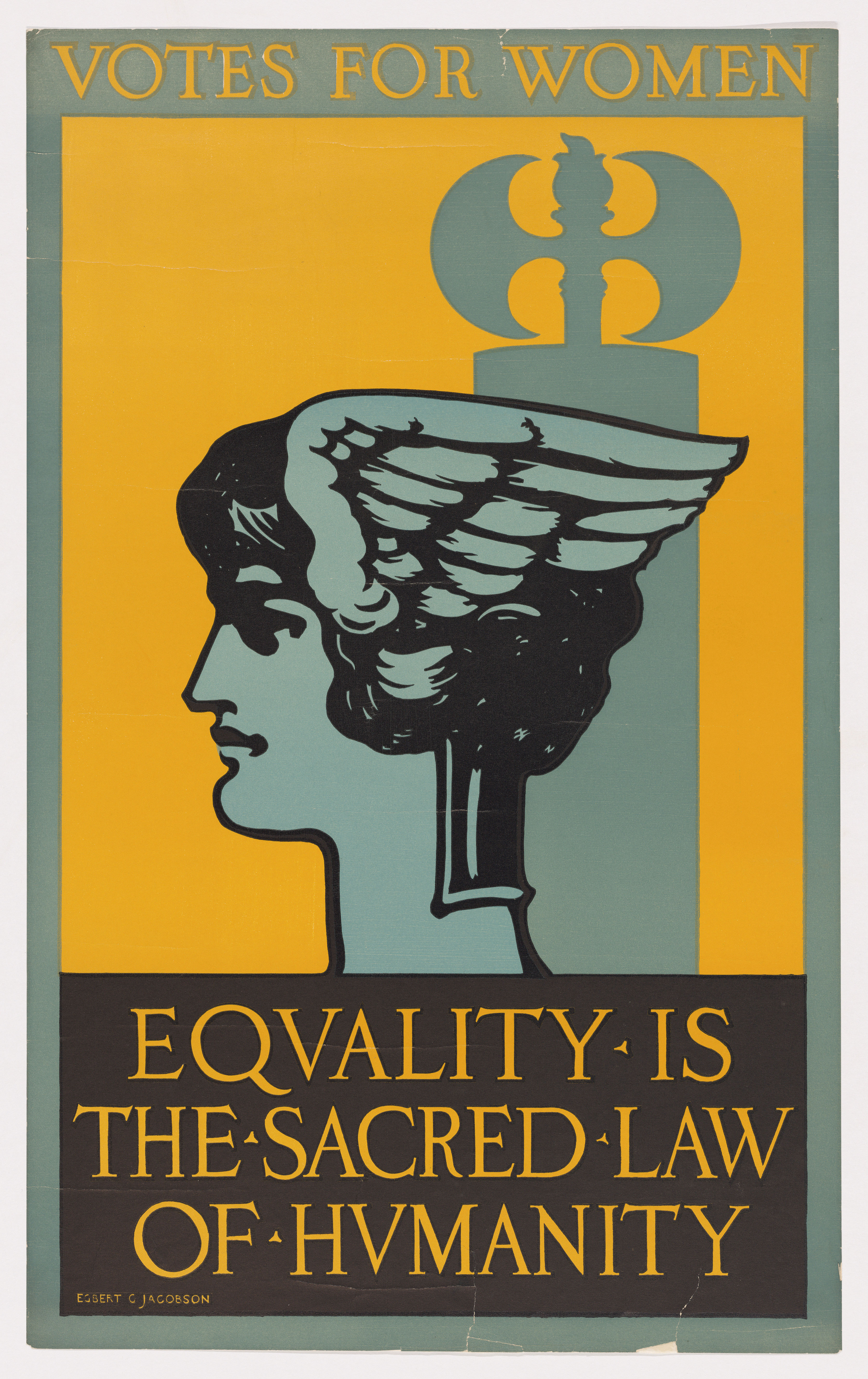 Votes for Women Equality is the Sacred Law of Humanity