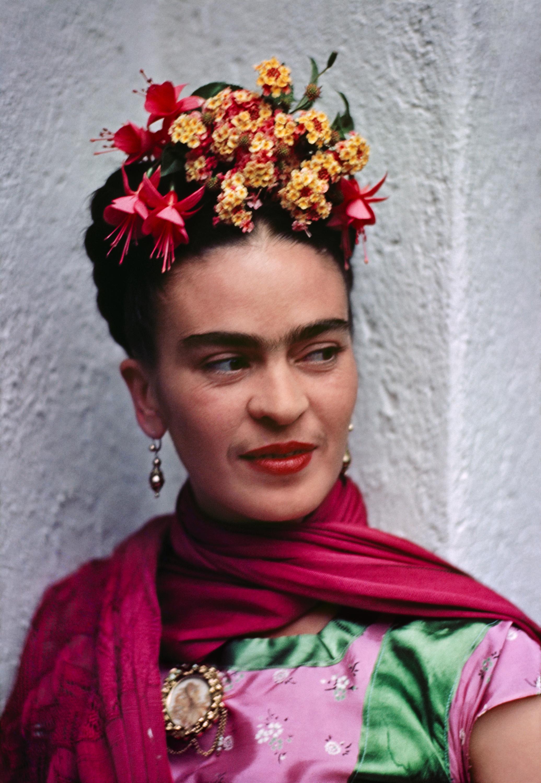 Frida pink green