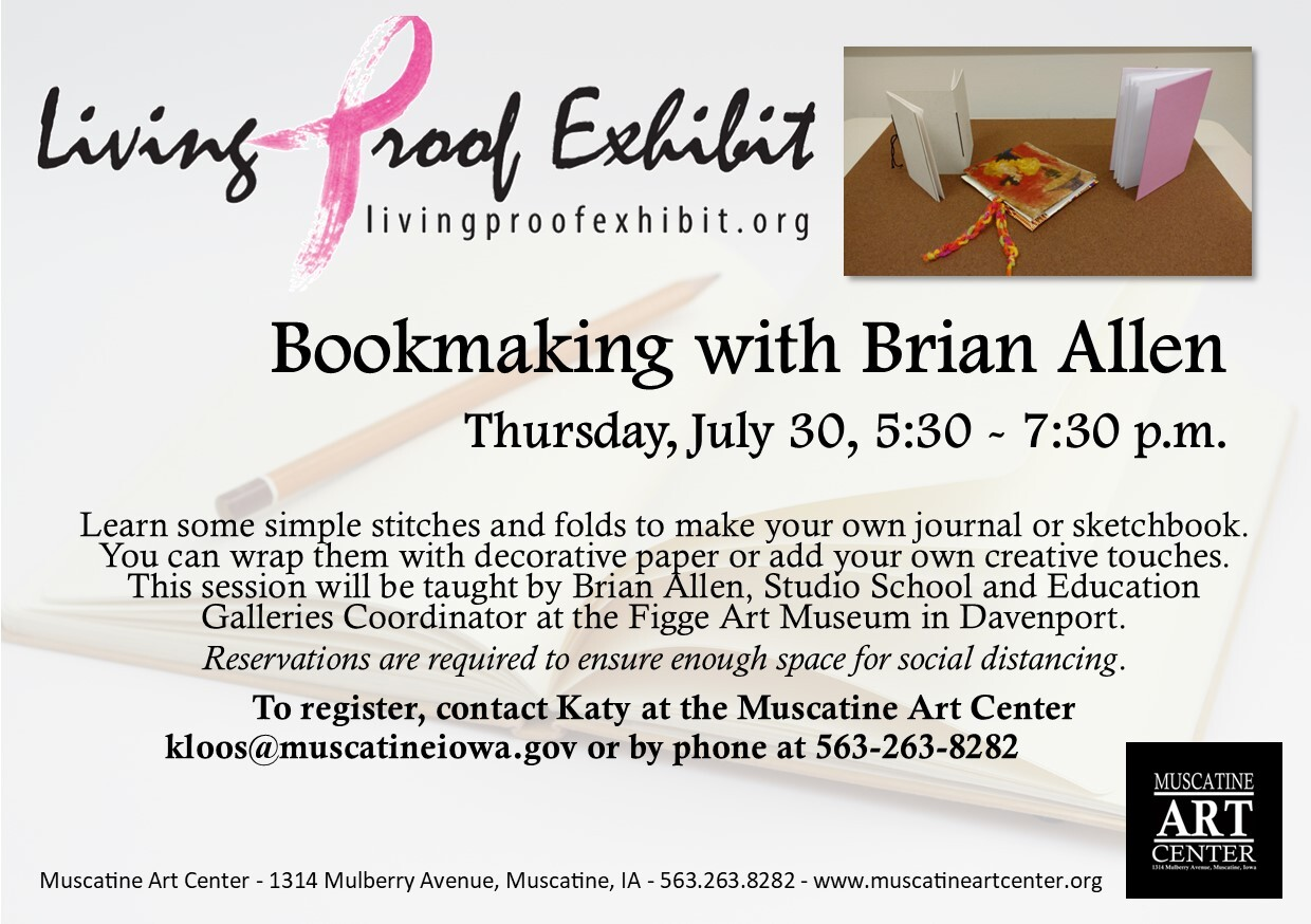 Creative Sessions Video: Bookmaking with Brian Allen Image