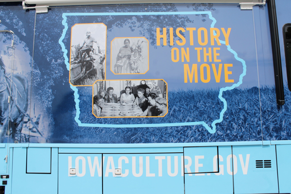 Iowa History 101 Mobile Museum in Muscatine - October 12th & 13th, 2019 Image