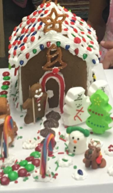 Kids' Saturday Workshop - Gingerbread House Workshop, December 11 Image