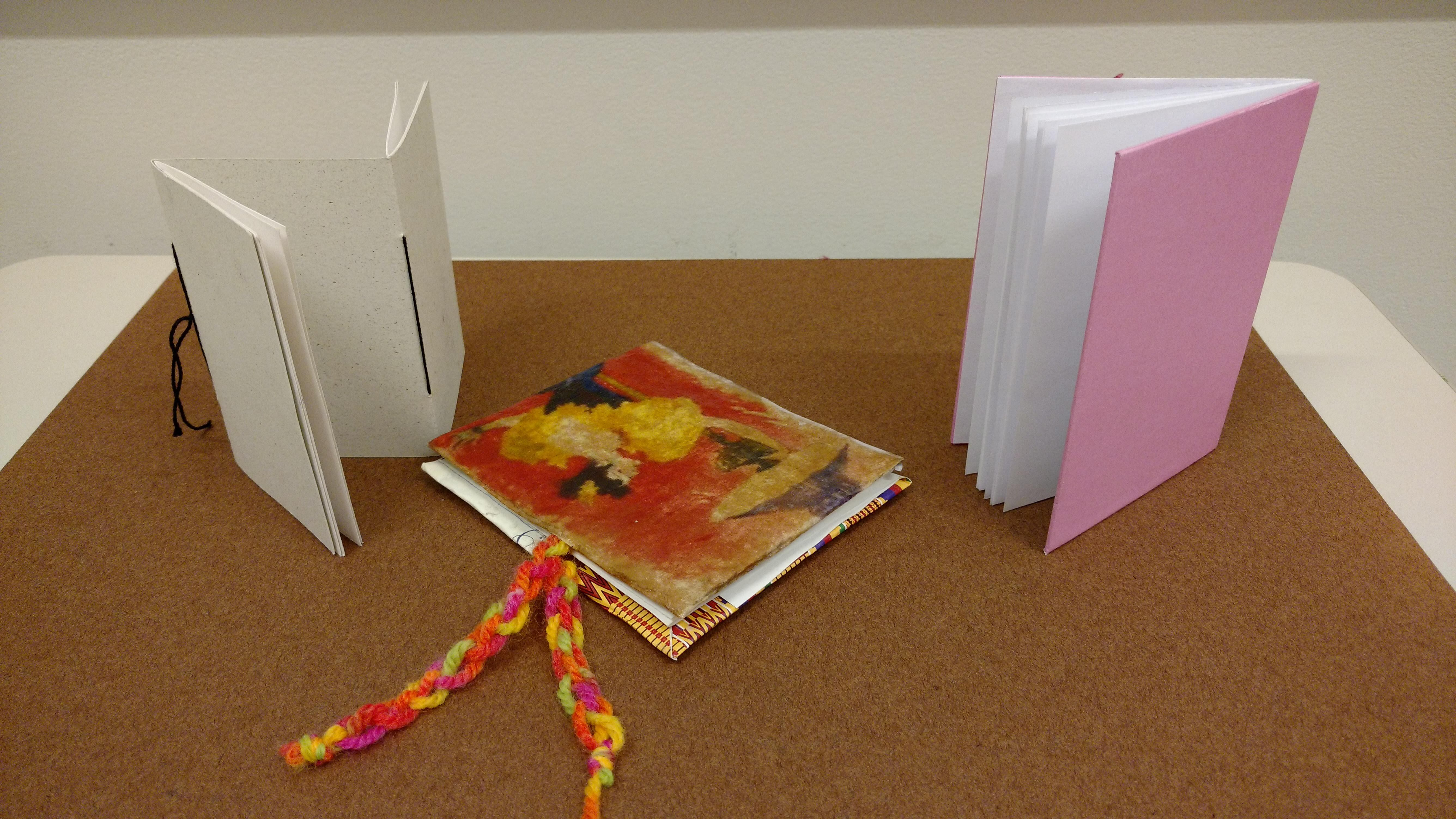 Creative Sessions: Bookmaking Image