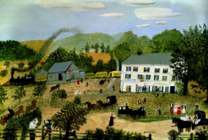 National Grandma Moses Day Image