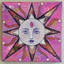 "Living Proof Exhibit Creative Sessions: ""I am"" Suns with Gina Kirschbaum October 15 Image"