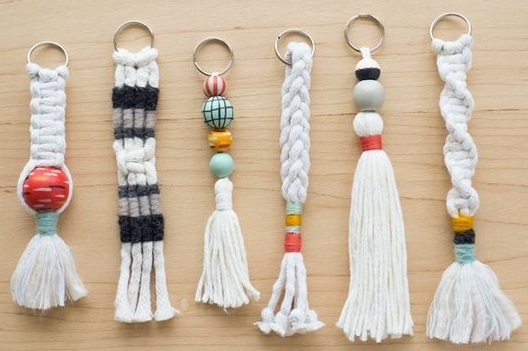 "Extra ""First Thursday""- Beginner Macrame Keychain November 12 Image"