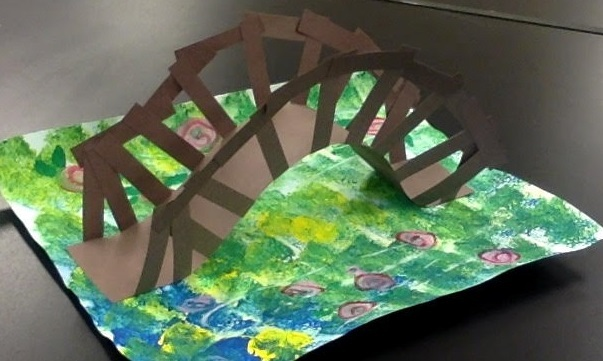 Visiting Artist Summer Workshops for Kids- Claude Monet Themed Workshop, July 28-30 Image