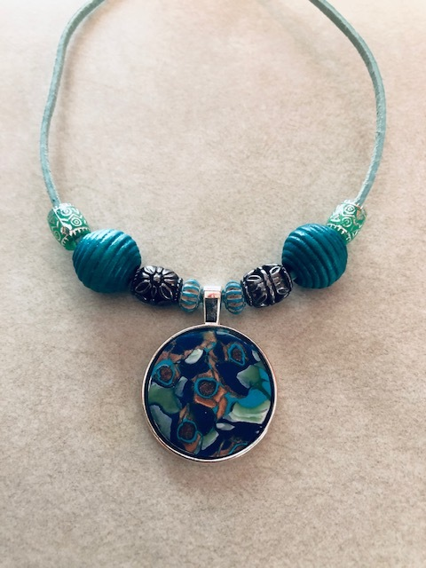 Creative Sessions: Polymer Clay Pendants with Marla Andich Image