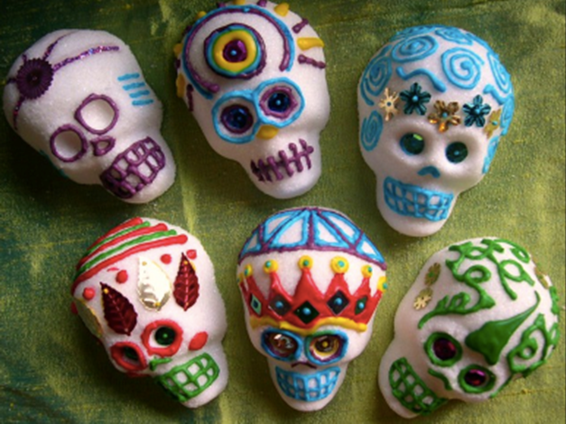 Day of the Dead Sugar Skulls Image